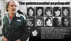 МаньякКлиффорд Олсон и его жертвы.