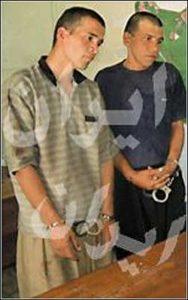 МаньякМохаммед Бидже и его помощник Баги.