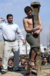 Фото казни маньяка Мохаммеда Бидже.