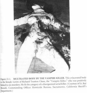 Жертвы маньяка Ричарда Трентона Чейза.