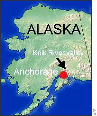 Штат Аляска, где орудовал маньяк Роберт Хансен.