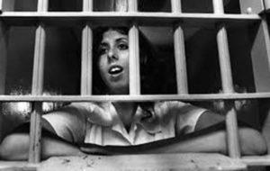 Беременная убийцаДжудит Нилли в тюрьме.