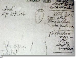 Записи из тетради убийцы Кенни Кимса.