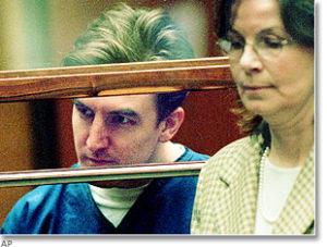 Убийца Кенни Кимс в суде.