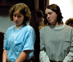 Убийца Холли Энн Харви и ее любовница Сандра Кетчум.