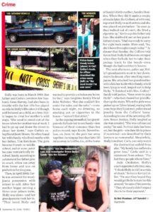 Сообщение в прессе о преступлении совершенном Холли Энн Харви и Сандрой Кетчум.