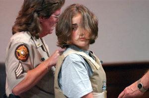 Фото убийцы Холли Энн Харви убившей со своей подругой дедушку и бабушку.