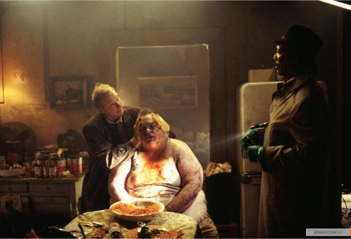 Фильмы про маньяков: Семь. 1995 год. Триллер, криминал, детектив, серийный убийца.
