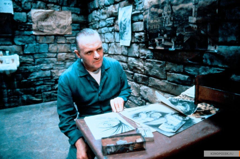 Фильмы про маньяков: Молчание ягнят. 1990 год. Триллер, криминал, детектив, серийный убийца.