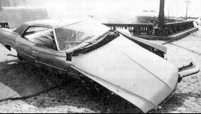 Автомобильзнакомого маньяка Дэвида Берковица - Майкла Карра.