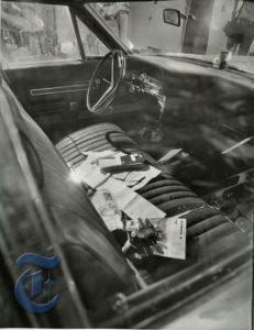 Автомобиль маньяка Дэвида Берковица.