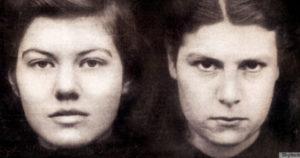 Любовницы Полина Паркер и Джульетта Хальм, предтечиПолины Кристоферсон иИнги Саймон-Джонс.