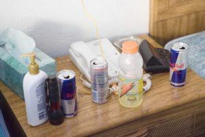 Энергетические напитки из комнаты маньяка Стивена Казмирчака.