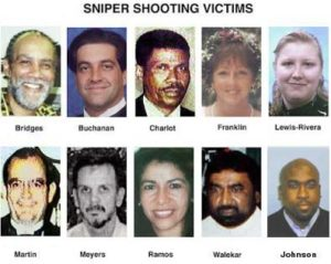 Жертвы серийного убийцыДжона Мухаммада.