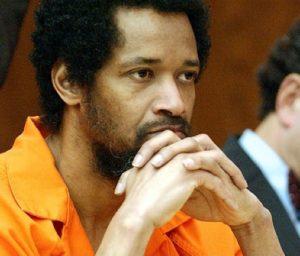 Серийный убийца Джон Мухаммад во время суда.