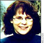 Жена маньяка Кристиана Лонго - Мэри-Джейн Бейкер.