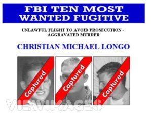 Сообщение о розыске маньяка Кристиана Лонго.