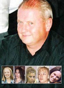 Серийный убийца Стивен Райт и его жертвы.