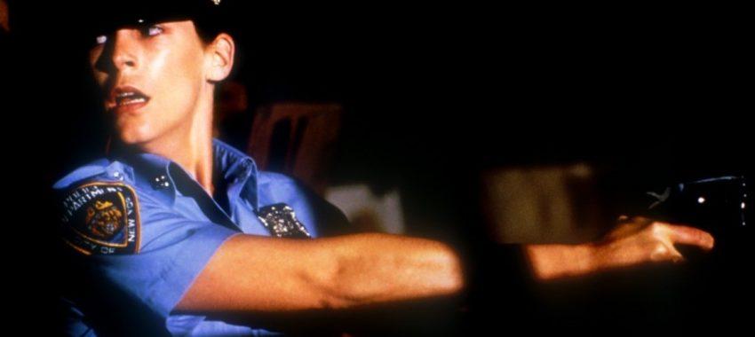 Фильмы про маньяков: Голубая сталь. 1990 год. Триллер, криминал, детектив, серийный убийца.