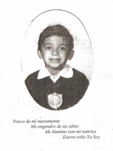 Детское фото будущегоманьяка Хосе Луиса Кальвы.