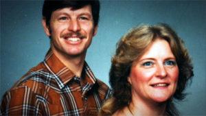 Серийный убийца Гэри Риджуэй и Джудит Моусон.