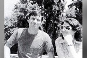 Будущий серийный убийца Гэри Риджуэй и его жена Марсия.