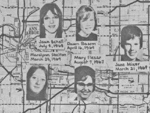 Предполагаемые жертвы маньяка Джона Нормана Коллинза.