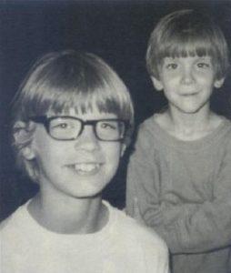 Детские фото серийного убийцы Дамера Джеффри.