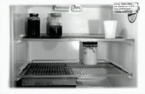 Холодильник серийного убийцы Дамера Джеффри.
