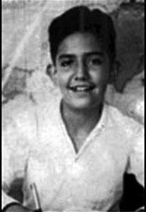 Детское фото маньяка Луиса Альфредо Гаравито.