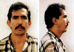 Фото маньяка Луиса Альфредо Гаравито после ареста.