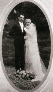 Серийный убийца Марсель Петио с женой.