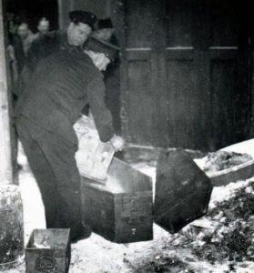 Фото с местапреступления серийного убийцы Марселя Петио.