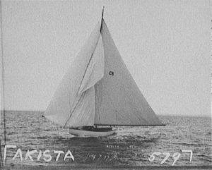 Яхта «Акиста» маньяка Карла Панцрама.