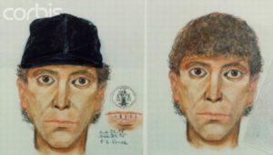 Рисунки маньяка Ричарда Рамиреса из полицейского досье.