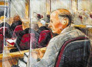 Суд над серийным убийцей Робертом Пиктоном.