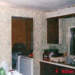 Обстановка внутри трейлера серийного убийцы Роберта Пиктона.