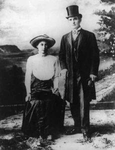 Серийный убийца Джордж Джозеф Смит и его женаБесси Манди.