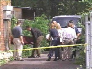Фото с места преступления маньяка Терри Блэра.