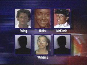 Жертвы маньяка Терри Блэра.