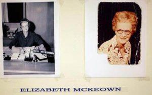 Элизабет МакКиун убитая маньяком Джоном Томасом.