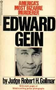 Книги про маньяка Эдварда Гейна.