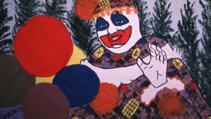 Рисунки маньяка Джона Уэйна Гейси.