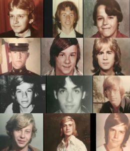 Фото некоторых жертв маньяка Джона Уэйна Гейси.