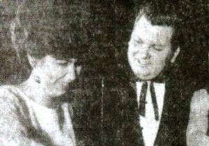 Маньяк Джон Гейси с первой женой Марлинн Майерс.