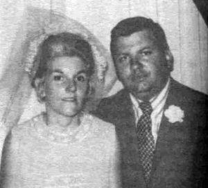 Маньяк Джон Гейси со второй женой Кэрол Хофф.