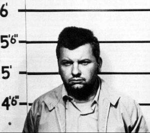 Фото маньяка Джона Гейси во время первого ареста.