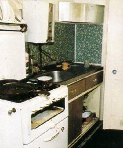 Кухня маньяка Денниса Нильсена.