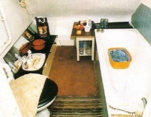 Ванная комната маньяка Денниса Нильсена.