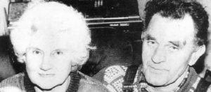 Мать маньяка Денниса Нильсена со вторым мужем.